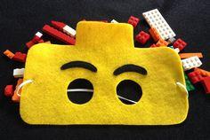 Lego mask set of 12 by miriamsolano on Etsy, $36.00