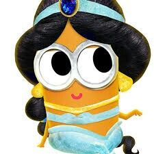 Attractive Jasmine Minion Print Aladin Disney Princess By MinionMeShop
