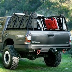 Looking for a Tacoma bed rack? Leitner Designs' Active Cargo System is a fully upgradable, customizable rack available for Toyota Tacoma short bed trucks.
