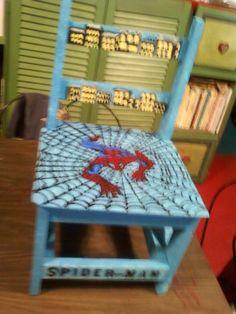 Spiderman Chair (Kids)