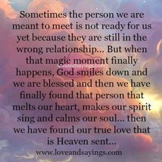Heaven Sent Quotes And Sayings. QuotesGram by @quotesgram