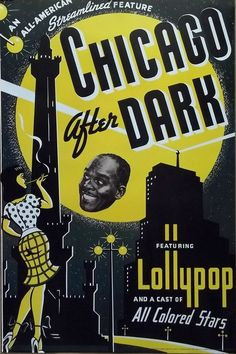 calumet412:  Movie poster for Chicago After Dark, 1946.