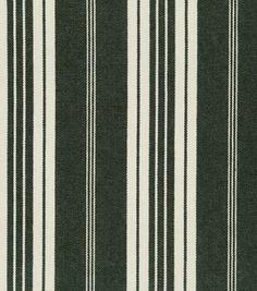 Home Decor Upholstery Fabric-Waverly Boot Cut Stripe / Jet: upholstery fabric: home decor fabric: fabric: Shop | Joann.com