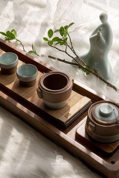 汪子滟设计-邦中式样板房-家居别墅-室内设计联盟 - Powered by Discuz! Restaurant Zen, Chinese Restaurant, Chocolate Cafe, Zen Tea, Zen Interiors, Tea Design, Tea Culture, Tea Tray, Japanese Interior