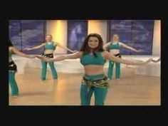 Belly Dance Workout - Part 1 of 3 - YouTube