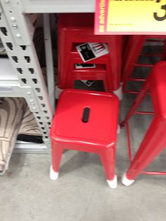 Cool industrial style stools at wharehouse too, reasonably priced