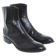 Hugo Boss - Stiefeletten in Schwarz #vintagefashion