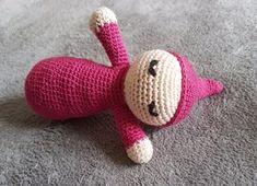 Doudou dodo bébé au crochet. Tutoriel écrit gratuit français made by amy amigurumi