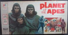 MILTON BRADLEY: 1974 Planet of the Apes Game #Vintage #Games
