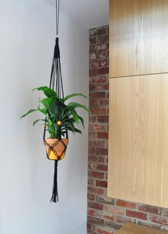 27 macrame diy plant hanger tutorials hanging pots - Savvy Ways About Things Can Teach Us Macrame Hanging Planter, Macrame Plant Holder, Macrame Plant Hangers, Diy Hanging, Hanging Planters, Macrame Projects, Diy Projects, Decoration, Crochet