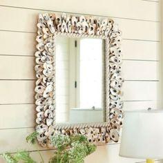 Oyster Shell Mirror  | European-Inspired Home Decor | Ballard Designs