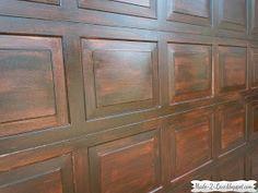 24 trendy Ideas for faux wooden garage door carriage house Wooden Garage Doors, Door Makeover, Faux Wood Garage Door, Cedar Garage Door, Diy Door, Garage Door Paint, Diy Garage Door, Garage Door Types, Wooden Garage