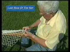Net making with a shuttle: Making A Crab Net   Pt 1 of 4