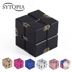 Check Price Premium Metal Infinity Cube Fidget Toy Aluminium Deformation Magical Infinite Cube Fidget Toys Stress Reliever for EDC Anxiety Fidget Cube, Fidget Toys, Cube Puzzle, Stress Relief Toys, Aluminum Metal, Desk Accessories, Cool Things To Buy, Stuff To Buy, How To Relieve Stress
