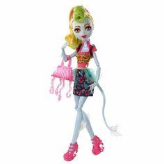 Boneca Monster High Freak Fusion Lagoonafire Mattel R$ 119.99