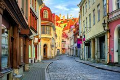 Find Narrow Street Old Town Tallinn Estonia stock images in HD and millions of other royalty-free stock photos, illustrations and vectors in the Shutterstock collection. Thousands of new, high-quality pictures added every day. Places To Travel, Places To Go, High Street Stores, Photo Store, Europe Photos, Best Beer, Wanderlust Travel, Countries Of The World, Old Town