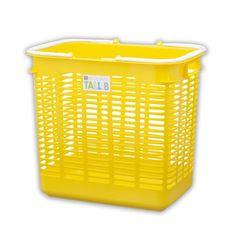 Multi-Purpose Tall Basket - Yellow