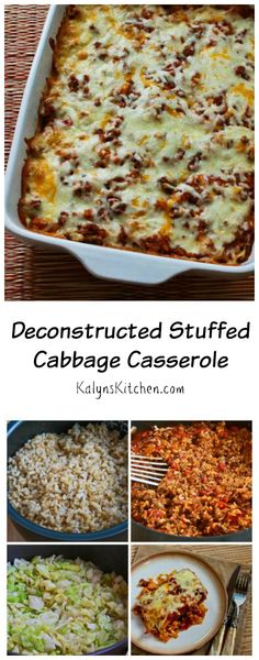 Stuffed Cabbage Casserole This Deconstructed Stuffed Cabbage Casserole is a delicious family-friendly dinner without all the fuss of making cabbage rolls. [from ]Fuß Fuß (German: foot) is a surname. Notable people with the surname include: Low Carb Recipes, Beef Recipes, Cooking Recipes, Healthy Recipes, Top Recipes, Cabbage Rolls Recipe, Cabbage Recipes, Beef Dishes, Food Dishes