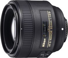 Nikon - AF-S NIKKOR 85mm f/1.8G Medium Telephoto Lens - Black, 2201