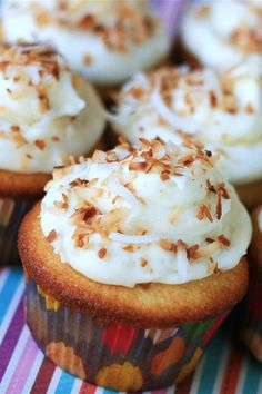 This coconut-cream cheese frosting is a quick and easy cream cheese frosting recipe! Make the best cream cheese frosting using cream cheese, coconut flavoring, and shredded coconut. You will love using this coconut cream cheese frosting to make coconut cake for dessert!
