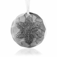 Snowflake 3-Piece Ornament Set