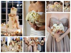 champagne and purple color scheme | Ponte Winery Family Estate in Temecula, Ca set the classic and ...