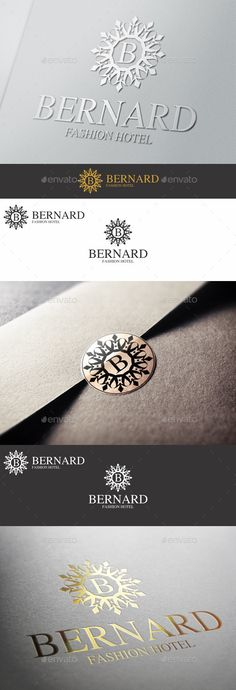 Boutique Elegant Logo Emblem  Bernard — Vector EPS #luxurious #victorian • Available here → https://graphicriver.net/item/boutique-elegant-logo-emblem-bernard/10607195?ref=pxcr
