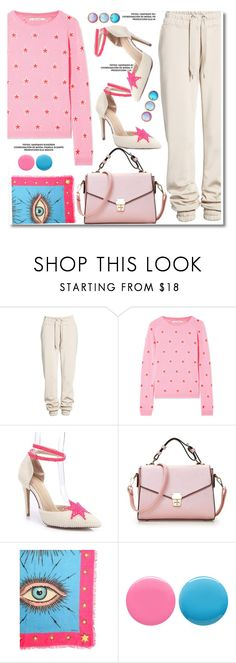 """""""Twinkle, Twinkle: Star Outfits"""" by paculi ❤ liked on Polyvore featuring Ivy Park, Chinti and Parker, Gucci, Deborah Lippmann and StarOutfits"""