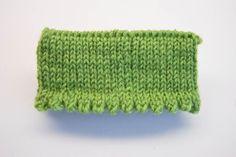 bündchen socken stricken Stricktipp: Bündchen und Abschlüsse für Socken stricken