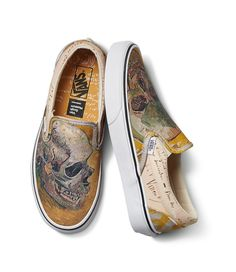 This New Vans Collab Lets You Wear Iconic Works Of Art. The Van Gogh Museum  and ... cf33f6ca9