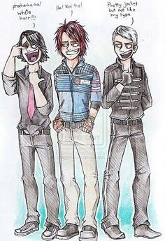 the incarnations of the sassmaster aka gerard way aka sheriff of emo town    he is a timelord