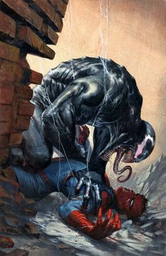 Venom #4 (2017) Frankie's Comics Exclusive Variant Cover by Gabriele Dell'Otto
