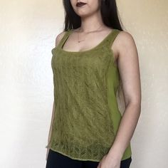 • J. Crew • Lace Tank Gorgeous earth-tone lace tank in great condition! J. Crew Tops Tank Tops