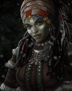 "fyblackwomenart:  "" Warlock 2 by Sergey Kondratovich on ArtStation.  """