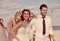 Galina Spaghetti Strap Empire Waist Ball Gown Style KP3694 #davidsbridal #weddingdress #beachwedding