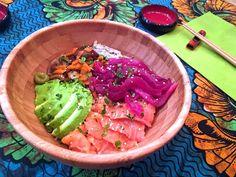 Chirashi sushi- delish!!! sano, sin gluten, sin azúcar refinado y super saludable!