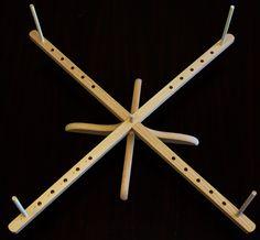 Stanwood Needlecraft - Tabletop Amish Style Wooden Yarn Swift, 2.5-6 ft - Stanwood Imports