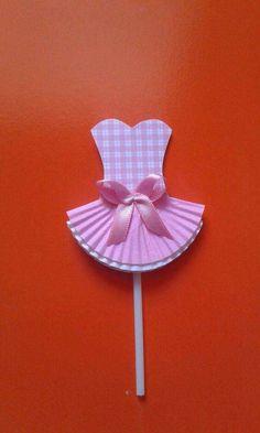 first birthday party favors Ballerina Birthday Parties, Ballerina Party, Paper Folding Crafts, Paper Crafts, Diy And Crafts, Crafts For Kids, Arts And Crafts, Baby Shower Centerpieces, Baby Shower Decorations