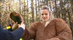 I am getting suited up in a bear suit for a TV add Love Photos, Girl Photos, Bear Costume, Bunny Suit, Furry Girls, Fox Fur Coat, Fursuit, Mascot Costumes, Girls Image