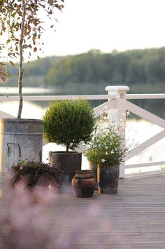 terrace outside of Stockholm