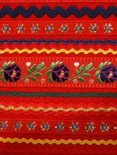 Sami people embroidery, Finland