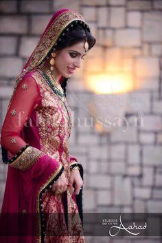 Pakistani Bride ♡ ❤ ♡ Pakistani Wedding Dress, Pakistani Style. Follow me here MrZeshan Sadiq