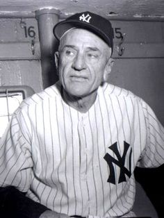 "Charles Dillon ""Casey"" Stengel (1890-1975) when managing the Yankees"