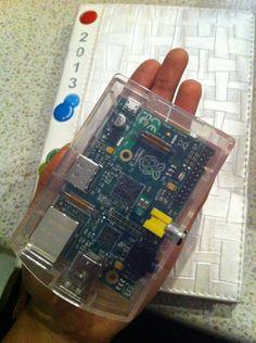 My Raspberry PI mini computer