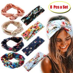 Awesome goods you bought it again Running Headbands, Winter Headbands, Headbands For Women, Wave Pattern, Black Rhinestone, Ear Warmers, Boho, Head Wraps, Knots