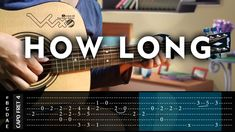 Charlie Puth - How Long - Cover (Fingerstyle Guitar Cover) With Tabs Tut...