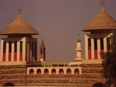 """Asmara, Eritrea  """"Isn't it cool that a cathedral, orthodox church and mosque can be built and maintained in harmony within feet of each other?"""""""
