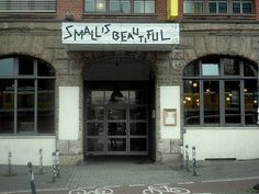 #small is beautiful #berlin
