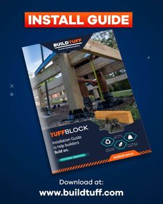 Need help installing TuffBlocks? Head to our website and under the Education tab you can download our Installation Guide. It gives you all the measurements for what timber TuffBlocks fit, the dimensions of TuffBlock itself, shows you correct spacings for your blocks as well as a step by step guide for how to install a floating deck. And much more. Go to: www.buildtuff.com And check it out. Build On. Less