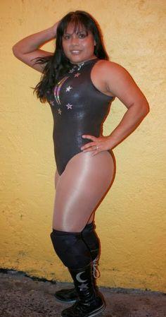 CMLL Luchadora - Luna Mágica